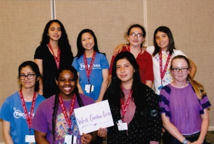 2016 Tech Trek girls